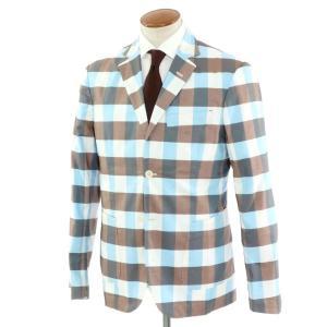 ジョバンニ イングレーゼ Giovanni Inglese アンコン シャツジャケット ブラウン系  52|ritagliolibro