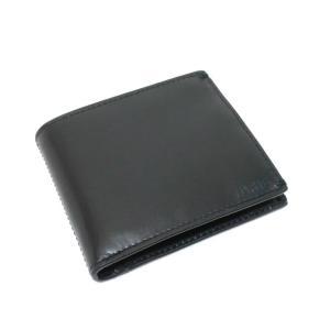 スーパードライ極度乾燥しなさい Superdry レザー 2つ折り 財布 ブラック BLK|ritagliolibro