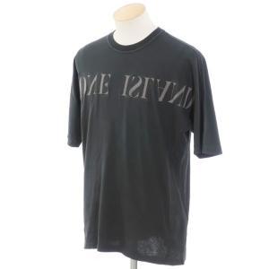 ストーンアイランド STONE ISLAND ロゴ 半袖クルーネックTシャツ チャコールグレー S|ritagliolibro