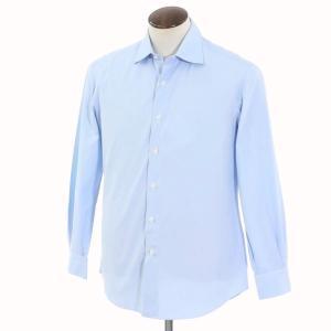 サルヴァトーレ ピッコロ Salvatore Piccolo コットン ワイドカラー ドレスシャツ サックス 41|ritagliolibro