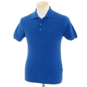 バーク Bark サマーコットン ニットポロシャツ ブルー S ritagliolibro