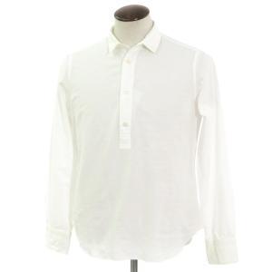 フィナモレ Finamore プルオーバー カジュアルシャツ ホワイト 41|ritagliolibro