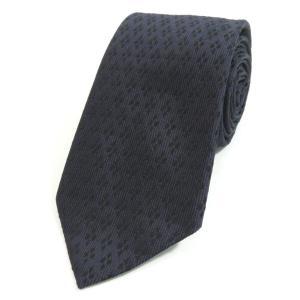 バランタイン BALLANTYNE 小紋柄 3つ折り シルクネクタイ ダークパープル系|ritagliolibro