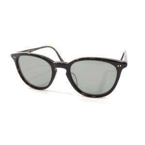 オリバーピープルズ OLIVER PEOPLES ボストン型 フルリム セルフレーム サングラス 眼鏡 ダークブラウン BRW|ritagliolibro