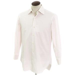 バルバ BARBA チェック柄 コットン セミワイドカラー ドレスシャツ ホワイト×ピンク 表記なし(41位)|ritagliolibro