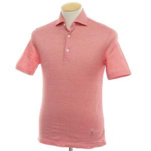 ギローバー GUY ROVER コットン 半袖ポロシャツ レッド XS|ritagliolibro