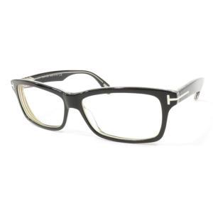 トムフォード TOM FORD TF5146 セルフレーム 眼鏡 サングラス ブラック×クリア BLK|ritagliolibro