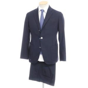 コシファントゥッテ COSI FAN TUTTE ウールポリエステル 3つボタン スーツ ネイビー 44|ritagliolibro