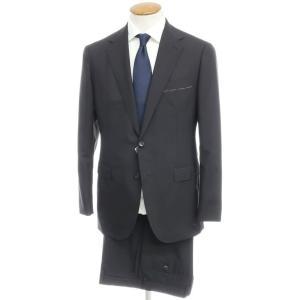 未使用 ユナイテッドアローズ UNITED ARROWS ウールモヘア 2つボタン スーツ ブラック 48|ritagliolibro