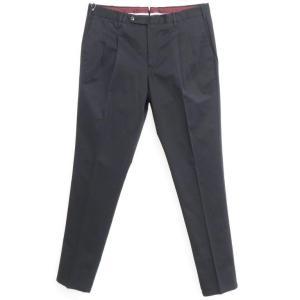 アウトレット ピーティートリノ PT TORINO ストレッチ コットン カジュアルスラックス パンツ ブラック 52 ritagliolibro