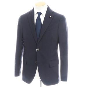 ラルディーニ LARDINI ウール 3B テーラードジャケット ネイビー 44 ritagliolibro