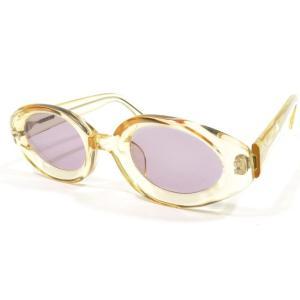 ハクサンガンキョウテン 白山眼鏡店 セルフレーム サングラス 眼鏡 クリアイエロー YEL|ritagliolibro
