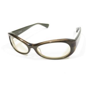 スコレー Skhole セルフレーム 眼鏡 サングラス オリーブ系 BRW|ritagliolibro