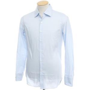 マリアサンタンジェロ Maria Santangelo コットン ドレスシャツ ライトブルー 39|ritagliolibro