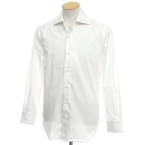 アウトレット オリアン ORIAN コットン ワイドカラー ドレスシャツ ホワイト 37|ritagliolibro