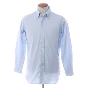 オリアン ORIAN コットン ボタンダウンシャツ ライトブルー 39|ritagliolibro