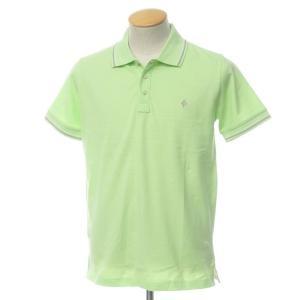 未使用 バランタイン BALLANTYNE コットン 鹿の子 半袖 ポロシャツ ライトグリーン S|ritagliolibro