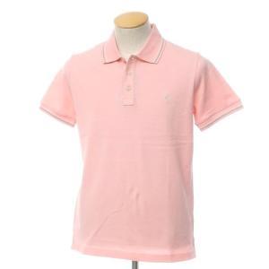 未使用 バランタイン BALLANTYNE コットン 鹿の子 半袖 ポロシャツ ピンク S|ritagliolibro