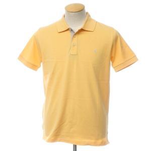 未使用 バランタイン BALLANTYNE コットン 鹿の子 半袖 ポロシャツ ライトオレンジ S|ritagliolibro