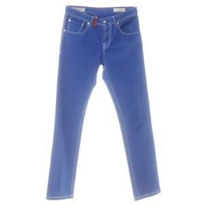 ジーティーアー ツイステッド G.T.A TWISTED ストレッチコットン 5ポケットパンツ ロイヤルブルー 31|ritagliolibro
