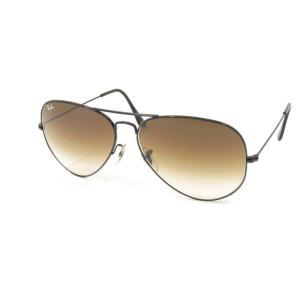 レイバン RAY BAN ティアドロップ型 メタルフレーム サングラス 眼鏡 ブラック(ブラウングラデーションレンズ) BRW|ritagliolibro