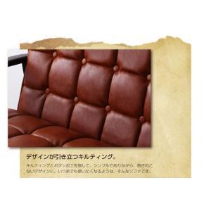 一人掛けソファ おしゃれ 一人掛けソファー 一人掛けチェア 肘付き 椅子 合皮 チェア 肘付きソファ コンパクト 木製 レトロ ヴィンテージ|ritmato|03
