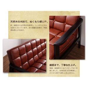 一人掛けソファ おしゃれ 一人掛けソファー 一人掛けチェア 肘付き 椅子 合皮 チェア 肘付きソファ コンパクト 木製 レトロ ヴィンテージ|ritmato|04