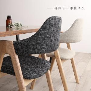 ダイニングチェア おしゃれ 木製 2脚 カフェ風 北欧 チェアー 食卓椅子 ナチュラル|ritmato|02