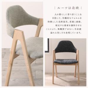 ダイニングチェア おしゃれ 木製 2脚 カフェ風 北欧 チェアー 食卓椅子 ナチュラル|ritmato|03