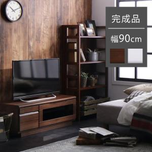 テレビ台 収納付き 完成品 90cm おしゃれ ローボード テレビボード ロータイプ コンパクト|ritmato