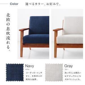 一人掛けソファ おしゃれ 一人掛けソファー 一人掛けチェア 肘付き 椅子 チェア 肘付きソファ コンパクト 木製 北欧 グレー ネイビー ダイニングチェア|ritmato|05