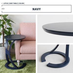 サイドテーブル おしゃれ 木製 カフェ風 丸型 40 リビング 寝室 玄関 ベッド ナイトテーブル ベッドサイドテーブル|ritmato|11