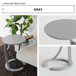 サイドテーブル おしゃれ 木製 カフェ風 丸型 40 リビング 寝室 玄関 ベッド ナイトテーブル ベッドサイドテーブル|ritmato|15