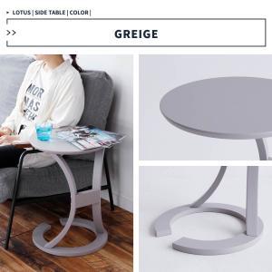 サイドテーブル おしゃれ 木製 カフェ風 丸型 40 リビング 寝室 玄関 ベッド ナイトテーブル ベッドサイドテーブル|ritmato|10