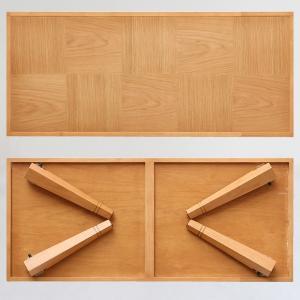 テーブル ローテーブル 折りたたみ おしゃれ 木製 木目 テーブル リビング センターテーブル リビングテーブル 折りたたみテーブル|ritmato|05
