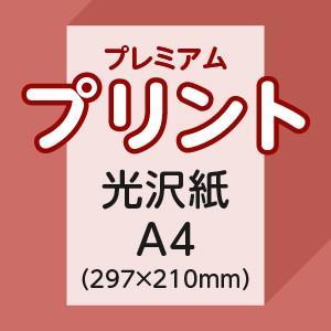プレミアムプリント A4片面(光沢紙)1枚|ritsugyosha