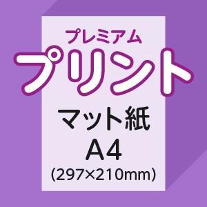 プレミアムプリント A4片面(マット紙)1枚|ritsugyosha