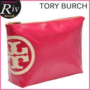 トリーバーチ TORY BURCH ポーチ 化粧ポーチ 新作 TORY BURCH BEACH DIPPED LARGE SLOUCHY COSMETIC CASE 11159330|riverall-men