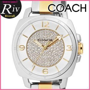 セール コーチ COACH 腕時計 レディース BoyfriendSmall33.5mm シルバー クリスタルストーン SS SS YGPVD 14501998 riverall-men