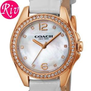 コーチ COACH 腕時計 TRISTENMINI 27mm レディース ゴールド カーフ革 14502102|riverall-men