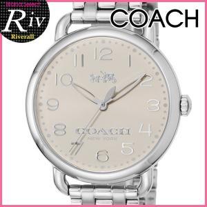 コーチ COACH 腕時計 レディース DELANCEY 36mm シルバー ステンレススチール 14502260 riverall-men