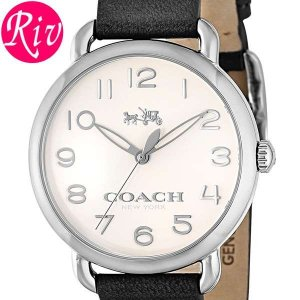 コーチ COACH 腕時計 DELANCEY 36mm レディース シルバー カーフレザー ステンレススチール 14502272 riverall-men
