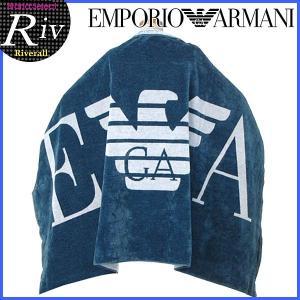 エコバッグ付 [厳選]エンポリオアルマーニ EMPORIO ARMANI TOWEL BIG LOG タオル バスタオル メンズ レディース 211432|riverall-men