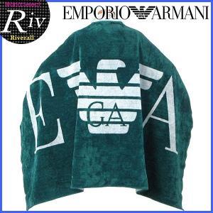 エコバッグ付 エンポリオアルマーニ EMPORIO ARMANI TOWEL BIG LOG タオル バスタオル メンズ レディース 211432|riverall-men