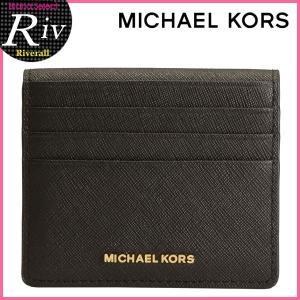 ★全品P2倍 マイケル マイケルコース パスケース 定期入れ MICHAEL MICHAEL KORS カードケース JET SET TRAVEL BILLFOLD CARD CASE 32t6gtvd6l|riverall-men