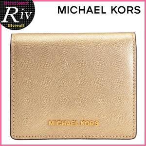★全品P2倍 マイケル マイケルコース パスケース 定期入れ MICHAEL MICHAEL KORS カードケース JET SET TRAVEL CARRYALL CARD CASE 32t6mtvd1m|riverall-men