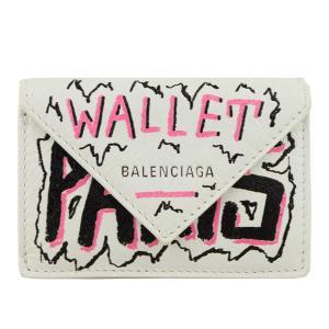 エコバッグ付 ショッパー付き バレンシアガ BALENCIAGA 財布 折財布 ミニ コンパクト アウトレット 3914460|riverall-men