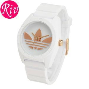 エコバッグ付 アディダスオリジナルス adidas Originals 腕時計 42mm レディース ボーイズ SANIAGO adh2918|riverall-men