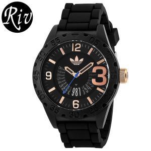 エコバッグ付 [厳選]アディダス adidas 腕時計 ニューバーグ メンズ adh3082|riverall-men
