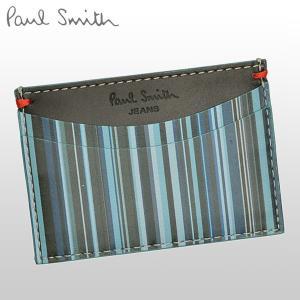 ポイント3%還元 ポールスミス Paul Smith カードケース メンズ 定期入れ AGXJ2665|riverall-men